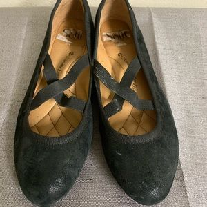 Soft ballet flats - leather